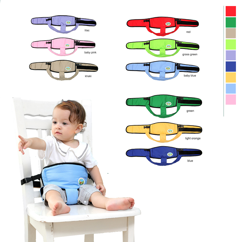 Baby Portable Seat Kids Feeding Chair for Child Travel Foldable Infant Seat Safety Belt  ...
