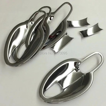 For Mazda CX-3 CX 3 CX3 2015 2016 2017 ABS Chrome Car Door Handle Bowl Side Door Handle Cover Exterior Car Styling Accessories