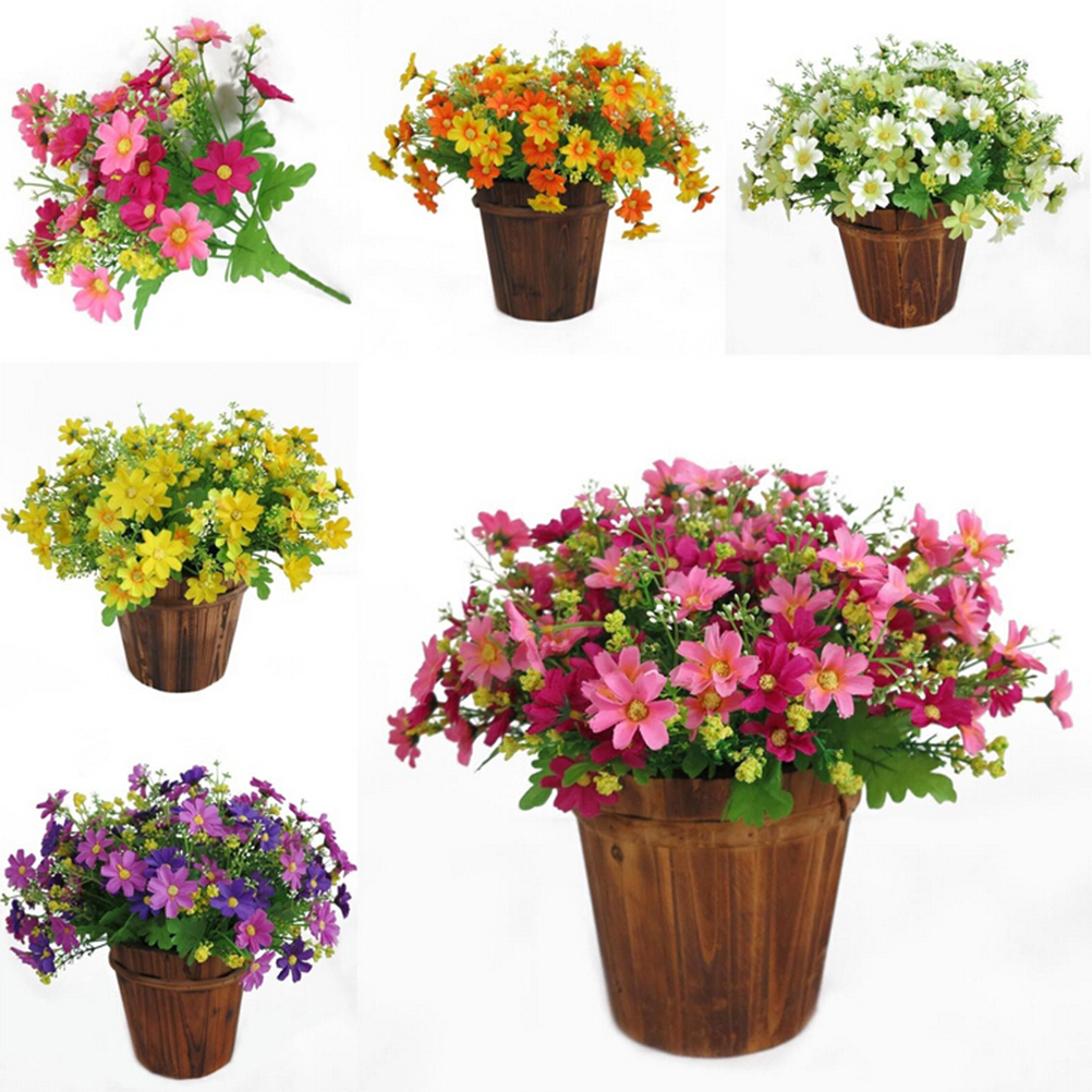 Wedding Party Supplies Fashion 1 Bouquet 28 Heads Fake Daisy ...