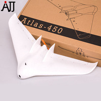 Atlas 450 Mini Fixed Wing Plane Camera RC Airplane BNF W SFHS FrSky Video Transmitter Motor