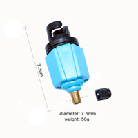 New Inflatable Boat Air Valve Adaptor Sup Board Stand Up Paddle Board Kayak Accessory A09010