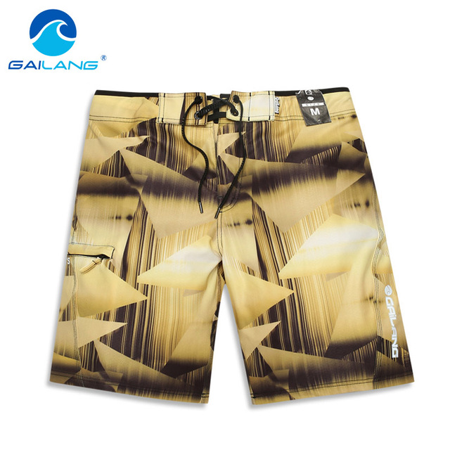 Gailang Brand Men beach shorts casual summer style boxer trunks for men swimsuits Swimwear board shorts bermuda quick drying