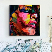 Modern Abstract Painting Nielly Francoise Artwork Face Art Party Decoration oil  Canvas Custom painting