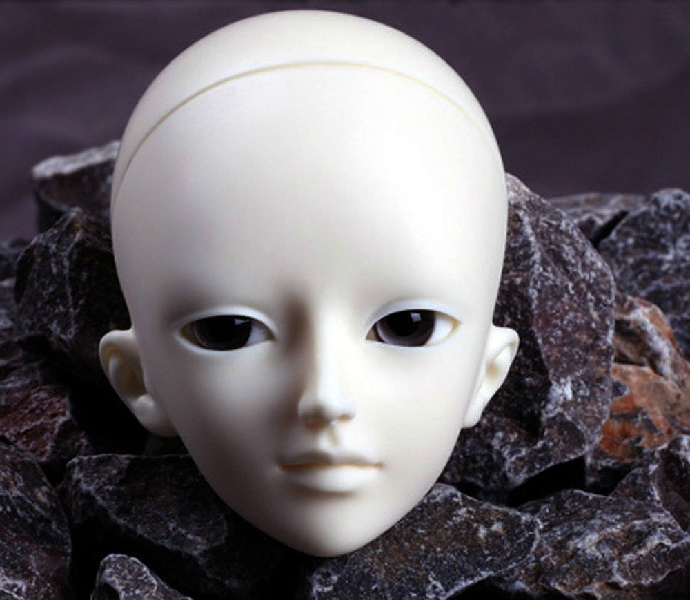 [wamami] AOD 1/4 BJD Dollfie Girl Doll Parts Single Head (Not Include Make-up)~An [wamami] aod 1 4 bjd dollfie girl doll parts single head not include make up meng ya qi