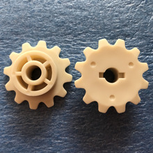 (10 unids/lote) engranaje de piñón Fuji, 34B7499821/34B7499822 para frontier 330/340/350/355/370/375/390/500/570/590 miniabs