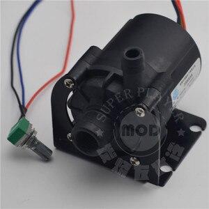Image 4 - سوبر Slient وحدة معالجة خارجية للحاسوب SC600 مضخة مياه التبريد الأسود السيراميك الكمبيوتر مضخة دعم سرعة التحكم 12 فولت 4pin ، انخفاض الشحن