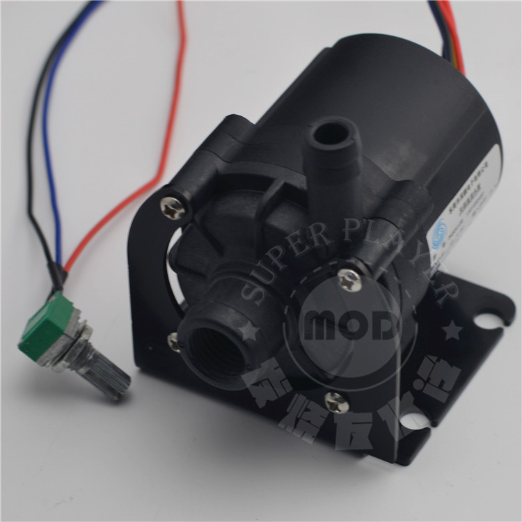 Image 4 - Super Slient computer case SC600 water pump cooling black ceramic pc pump support speed control 12v 4pin,drop shipping-in Fans & Cooling from Computer & Office