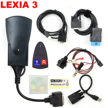 With Led Cable ! Newest Lexia3 Lexia-3 Diagnostic Scanner Lexia 3 V48 PP2000 For Citroen/for Peugeot Diagbox V7.83 Free Shipping