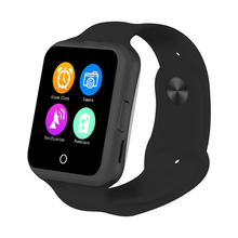 Heart Rate Monitor Smart Bluetooth Watch Sync Notifier Support SIM TF Card Camera font b Smartwatch