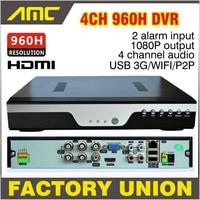 2015 New BEST H 264 NVR DVR 4CH 960H CCTV Recorder DVR Full D1 CCTV 4