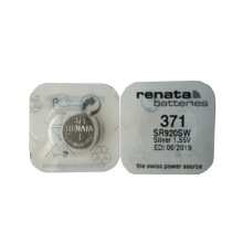 RENATA 2pcs Silver Oxide Watch battery 371 SR920SW 920 1.55V 100% renata batteries