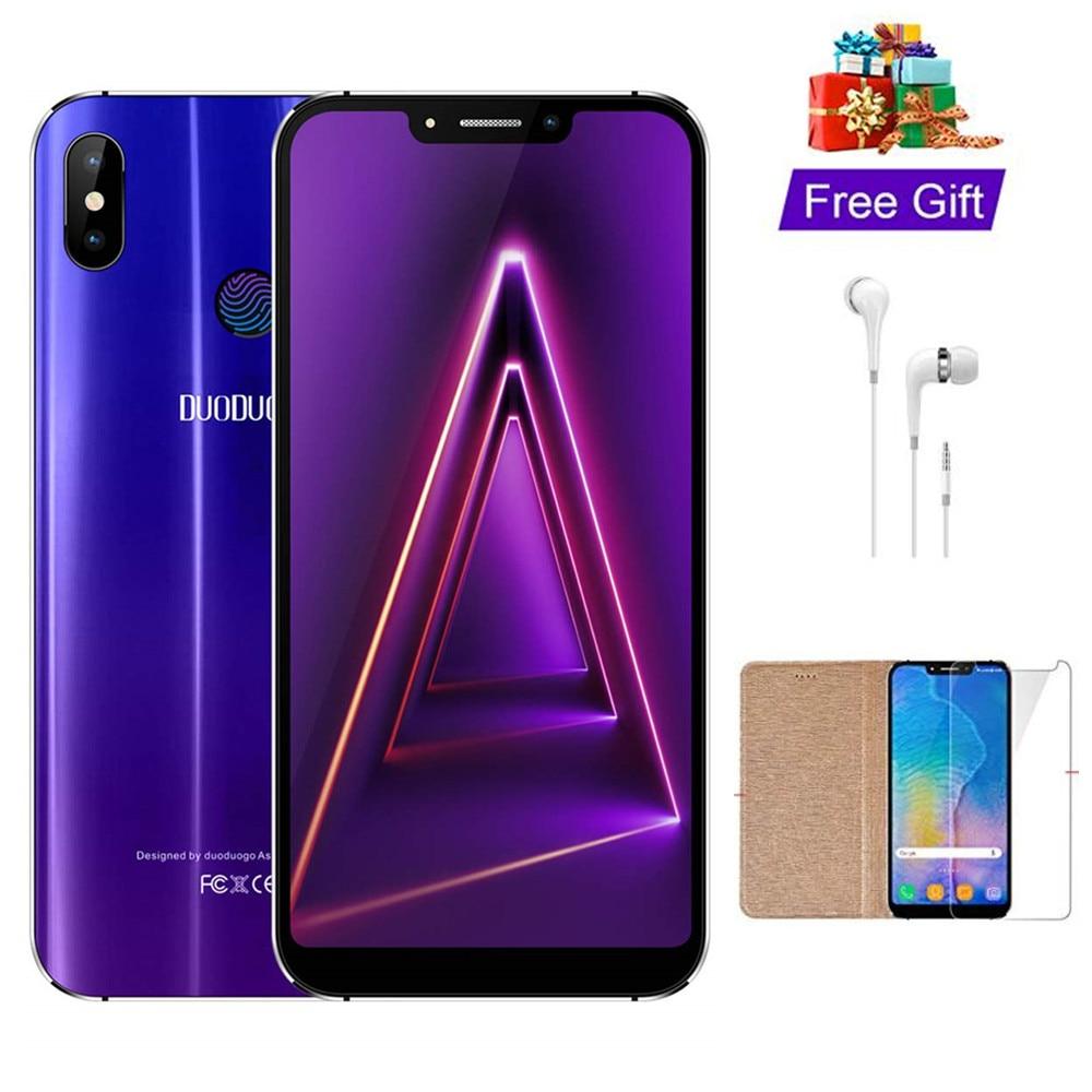 TEENO DUODUOGO 4S Mobile Phone Android 7.0 5.85″ HD Screen 3GB+32GB 4G fingerprint celular Smartphone unlocked Cell Phones