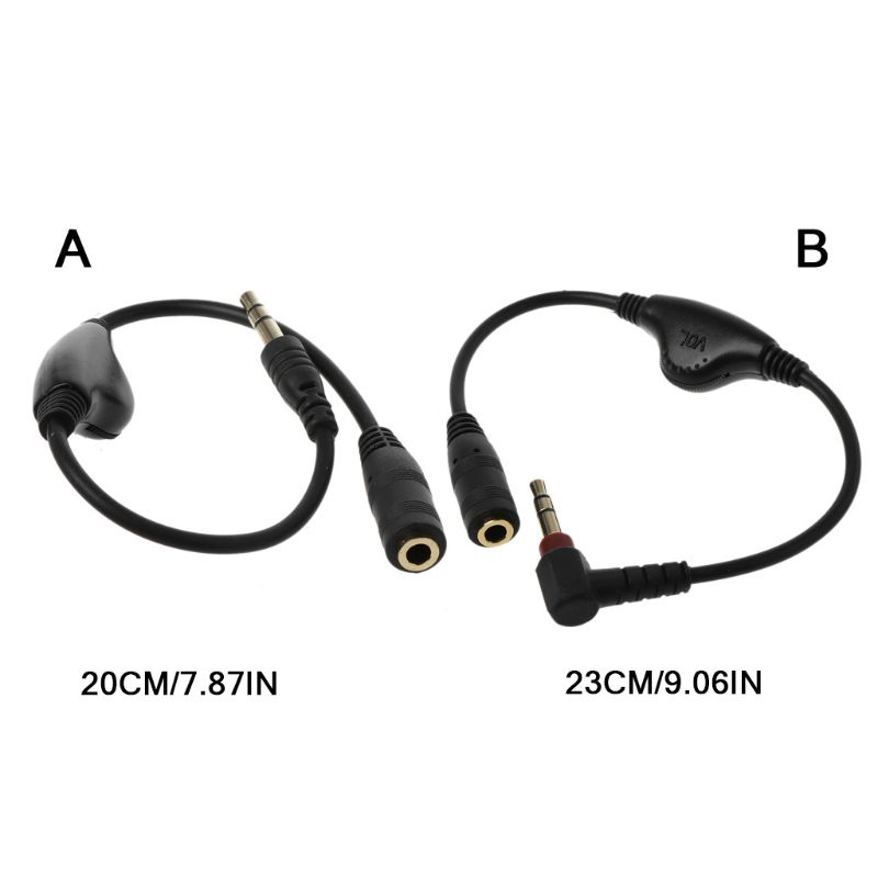 3.5mm Jack AUX Male To Female Adapter Extension Cable Audio Stereo Cord With Volume Control Earphone Headphone Wire For Smartpho