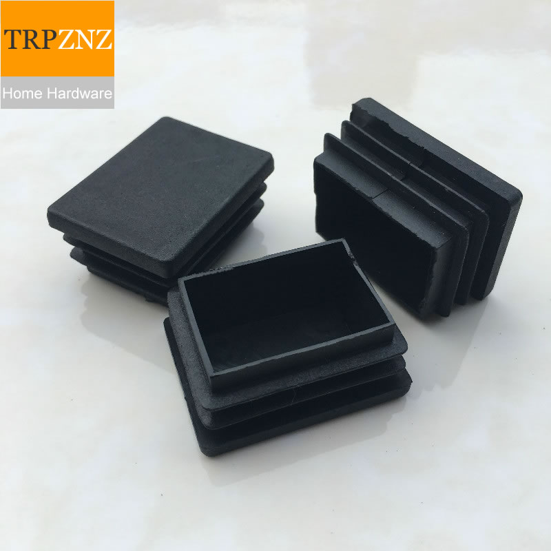 30*(30.40.50.60.70.80)mm,Black Square Tube Plug, Plastic Plug,Non-slip, Table Chair  Stool Foot Pad, Furniture Foot Support