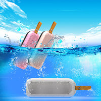 QINGRX 12W Wireless Waterproof Speaker USB TF Bluetooth Mini Speakers Out Door Sports Stereo IPX7 Waterproof Speaker Subwoofer
