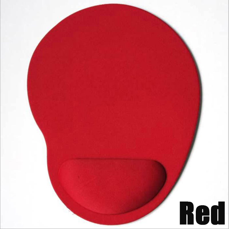 Red Comfort Wrist Rest Support Mat Mouse Mice Pad Computer Pc Laptop Soft Free Shipping For Dota2 Diablo 3 Cs Mousepad