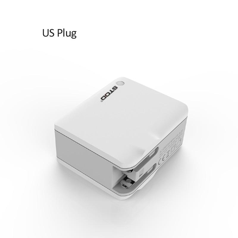 STOD Multi Port Travel Charger 4 USB 22W 4.4A Pengisian Cepat Untuk - Aksesori dan suku cadang ponsel - Foto 3