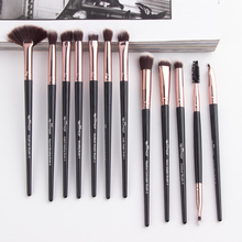 Anmor 12Pcs Makeup Brushes Set  Make Up Brush Eye Shadow Foundation Powder Eyeliner Eyeshadow Eyelash Cosmetic Beauty Tool Kit все цены