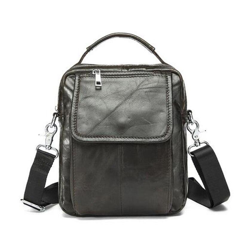 Senkey style Men Bag Genuine Leather crossbody bag cow leather men s messenger shoulder bags 2016