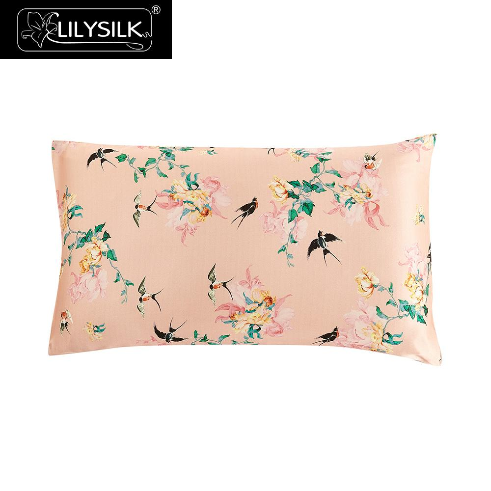 Lilysilk 16 Momme Silk Pillowcase Hidden Zipper Terse