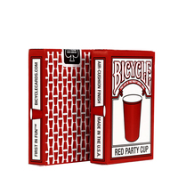 New Xe Đạp Red Cốc Bên Thẻ Chơi Ma Thuật Thẻ Chơi Board Game Poker Chips Thẻ Mahjong Th