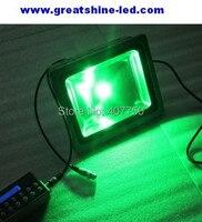 Frete grátis para OS EUA 24 V ou AC85V/265 V dmx rgb 30 w conduziu a luz de inundação 12 pçs/lote usado para projetos de iluminação ao ar livre