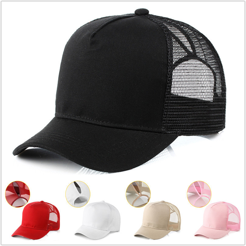2018 New Pattern Men And Women Outdoors Lovers Hat Sun Hat Ponytail Braided Cap With Braided Cap Peaked Cap Baseball Hat Sun Hat ...