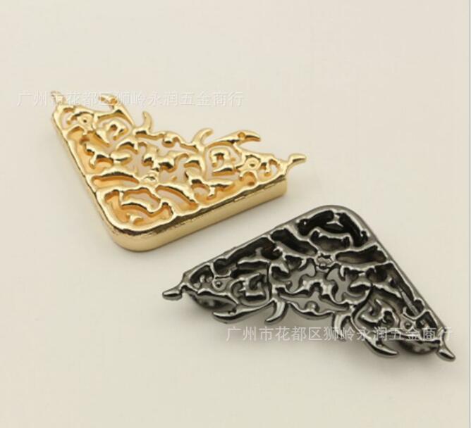 (10 pieces/lot) Bags Handbags Clip Edges Hollow Fixed Decorative buckle DIY Hardware Accessories 10 pieces lot pw106 10l