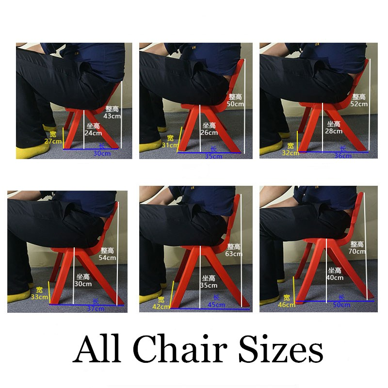 30 StÜcke Ätherisches Halten 100 Kg 30 Cm Sitzhöhe Umweltfreundliche Pp Kindergarten Stuhl Sicherheit Verdicken Kleine Sessel Für 1-9year Kinder