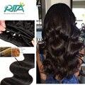 Естественный Черный Цвет Перуанский Девы Человеческих Волос 50 г В Пучки Объемная Волна Расширения Высокое Качество Перуанский Weave Тела Человека волос