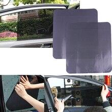 2 шт. 42*38 см автомобильный Стайлинг автомобильный солнцезащитный козырек электростатические наклейки авто принадлежности солнцезащитный Блок наклейки от солнца