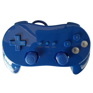 Image 2 - Classic Dual Analog ABS Wired Game Controller Pro for Nintend W ii Remote Double Shock Game Controller Gamepad For W ii Console