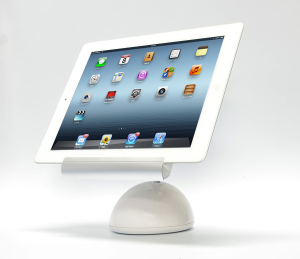Innovative tablet pc bracket desk lamp design for ipad for Surface elegant reading light with mount base for any tablet pc stand