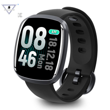 T103 Smart Watch 2.5D Curved Surface Glass Oversized 1.3 IPS Color Touch LCD Screen Music Fitness Waterproof Sport Swim