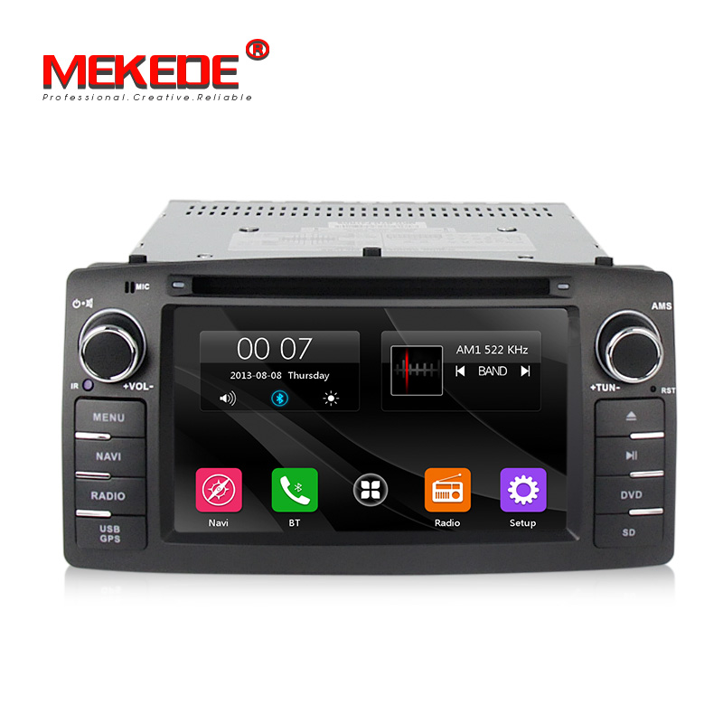 Car audio radio dvd player for BYD F3 toyota corolla E120 car gps navigation stereo with Ipod BT radio video free shipping ekind head mounted wireless headphone bluetooth headset earphone with mic support tf card radio for phone iphone xiaomi pc tv
