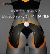 Masazhues i ri Trainer Hip Profesionist për Supermodel Vazhdoni makinën e ngritjes së hipit të hollimit