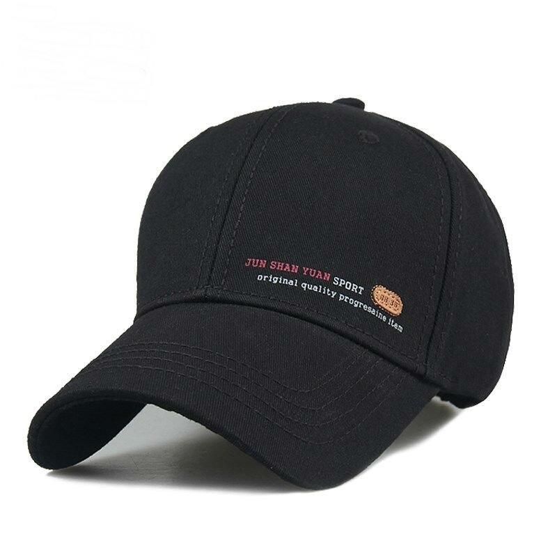 28966dda Big Head Man Plus Size Baseball Cap Men Summer 100% Cotton Sun Hat Male Long