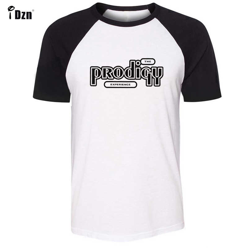 THE PRODIGY EXPERIENCE Album Symbol Design Pattern Long Short Sleeves T-Shirt Men's Boy's Tee Tops Black or Blue Sleeves