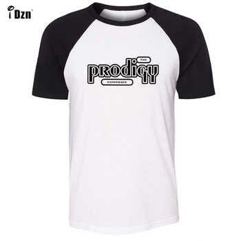 Camiseta de manga corta larga con diseño de símbolo de álbum de la experiencia del PRODIGY mangas