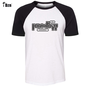 THE PRODIGY EXPERIENCE Album Symbol Design Pattern Long Short Sleeves T-Shirt Men's Boy's Tee Tops Black or Blue Sleeves black long sleeves rose embroidery pattern cropped top