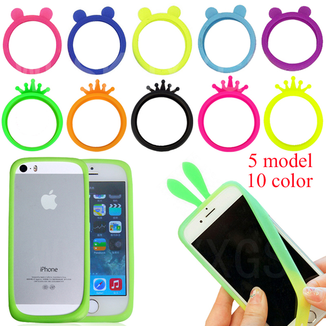 sale retailer 9f095 84598 US $2.99 |Hot sales!!! universal phone Bumper case For Apple iPod Touch 5  Soft Silicone Rubber Case Cover Protector For Apple iPod Touch 5-in Phone  ...