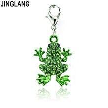 Модные подвески jinglang в виде лягушки животных для изготовления