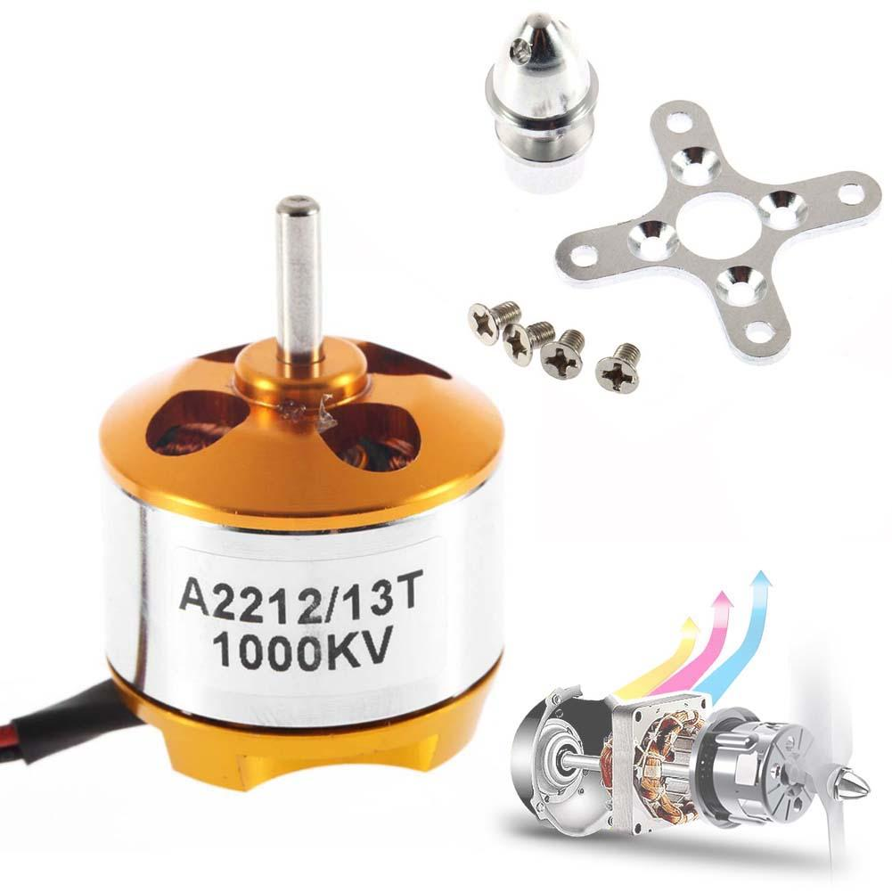 A2212 1000KV Brushless Outrunner Motor For Airplane Aircraft Quadcopter NEW