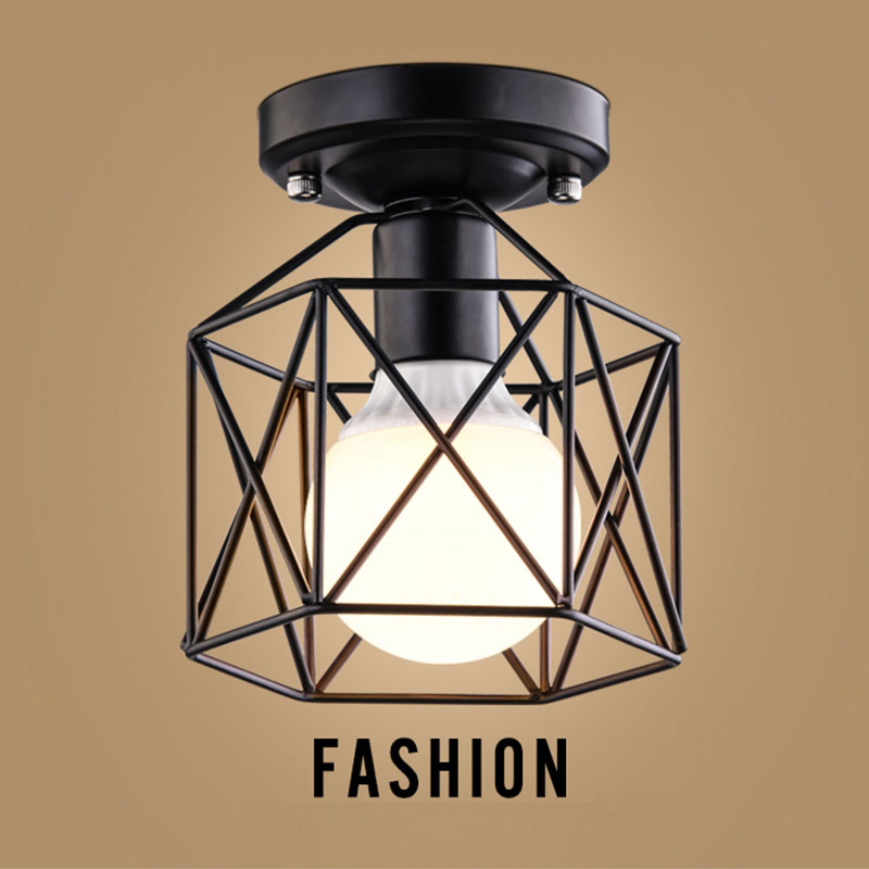 European style country lamp for living room bedroom study corridor modern simple porch bedside led ceiling light 0008 european style garden princess bedroom bedside lamp shade cloth fabric floral lace crystal simple dimmable