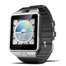 Envío libre QW09 Bluetooth4.0 3G WIFI tarjeta SIM podómetro Reloj Inteligente Android Real Llamada Muñeca Desgaste Anti-pérdida Smartwatch Teléfono