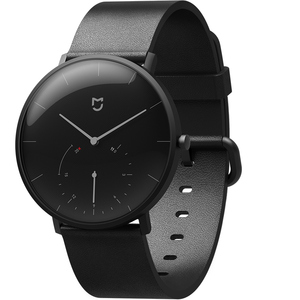 Image 2 - Original Xiaomi Mijia Waterproof Quartz Watch Smart Band Pedometer Automatic Calibration time Vibrate reminder Stainless Cover