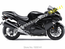 Лидер продаж, для Kawasaki ZX-14R 2012 2013 2014 2015 ZZ-R1400 ZX14R ZX 14R полный черный обтекатель для мотоцикла (литья под давлением)