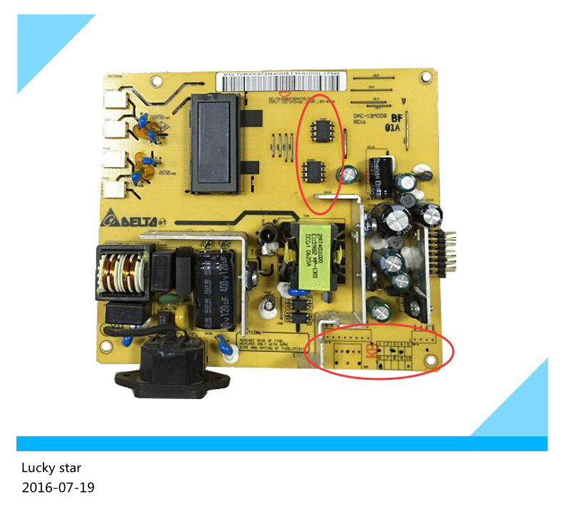 95% new original for Power Supply Board for DAC-19M008 power supply for pwr 7200 ac 34 0687 01 7206vxr 7204vxr original 95%new well tested working one year warranty
