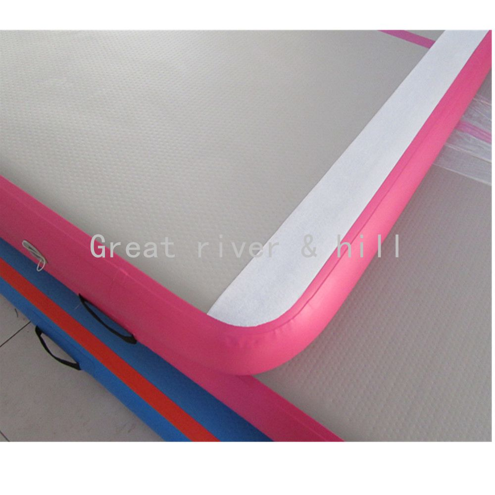 Great River Hill air track for gymnastics training with fedex shipping with size 6MX1MX0.1M