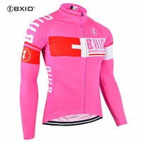 BXIO Mujer Ropa Ciclismo Invierno Pro Team Bike Clothes Multi Colors Bicycle Clothing Winter Thermal Fleece